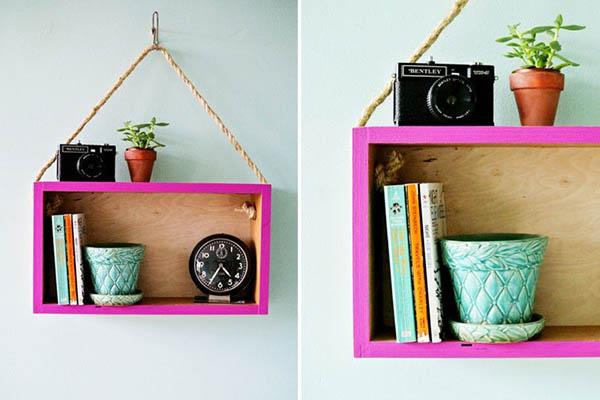 DIY ประดิษฐ์ชั้นวาง สวยด้วย ใช้งานได้ด้วย